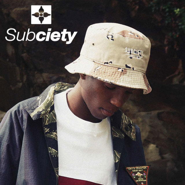 SUBCIETY(サブサエティ) BUCKET HAT  【2019SPRING先行予約】 【キャンセル不可】【108-86383】