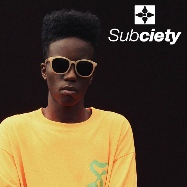 SUBCIETY(サブサエティ) SUNGLASS-Ryder-  【2019SPRING先行予約】 【キャンセル不可】【108-87387】