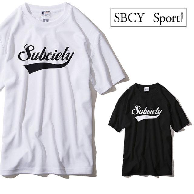 SUBCIETY SPORTS(サブサエティ スポーツ) DRY TEE-GLORIOUS- 【2019SPRING新作】 【ドライTシャツ】 【113-40001】