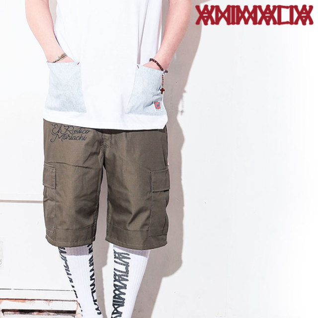 ANIMALIA(アニマリア) ARMY Shorts 【2019 1stSUMMER先行予約】 【キャンセル不可】【AN19U-PT03】【ショートパンツ】