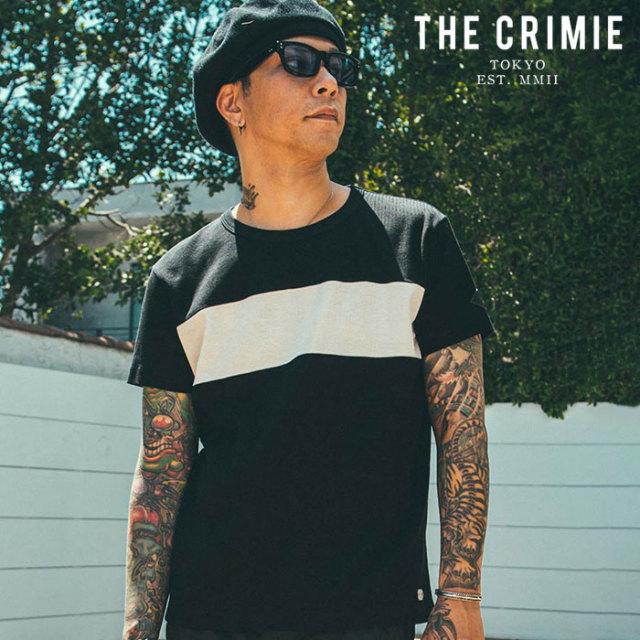 CRIMIE(クライミー) SURF KNIT T-SHIRT 【サーフニットTシャツ】【ブラック グレー ネイビー アメカジ ミリタリー】【シンプル お