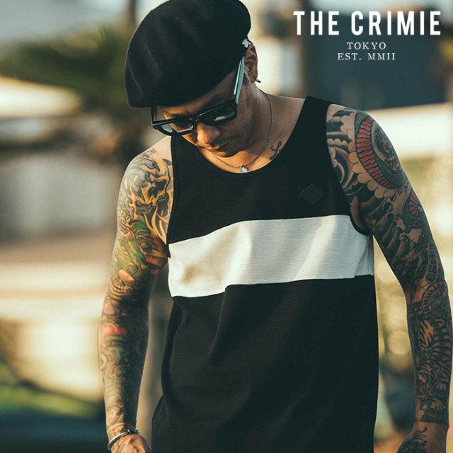 CRIMIE(クライミー) SURF KNIT TANK TOP 【ニットタンクトップ】【ブラック グレー ネイビー アメカジ ミリタリー】【シンプル お