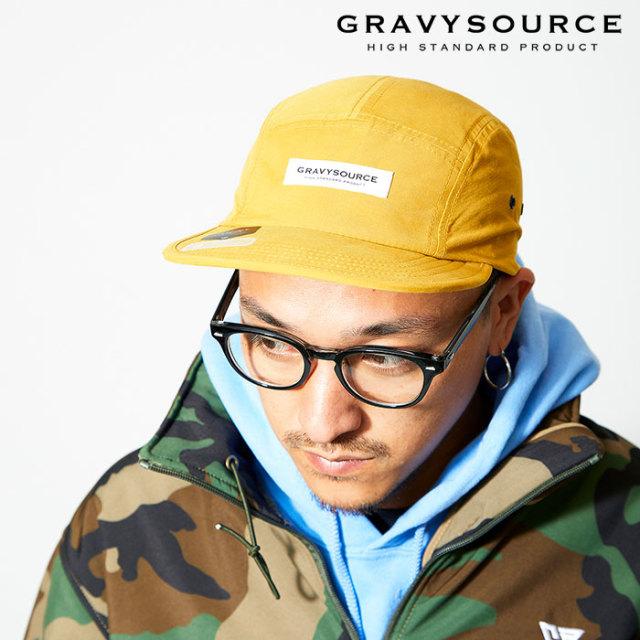 GRAVYSOURCE(グレイヴィーソース) WP CAMP CAP 【2019AUTUMN&WINTER先行予約】【キャンセル不可】 【GS19-ACP01】【キャップ】