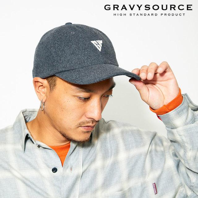 GRAVYSOURCE(グレイヴィーソース) WOOL BB CAP 【2019AUTUMN&WINTER先行予約】【キャンセル不可】 【GS19-ACP02】【キャップ】