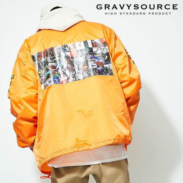 GRAVYSOURCE(グレイヴィーソース) ALBUM BOA COACH JACKET 【2019AUTUMN&WINTER先行予約】【キャンセル不可】 【GS19-AJK03】【コ