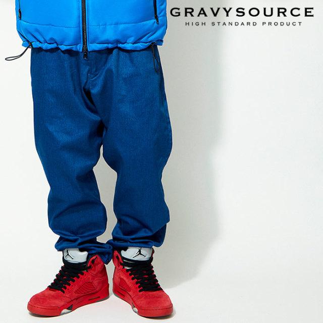 GRAVYSOURCE(グレイヴィーソース) EASY PANTS 【2019AUTUMN&WINTER先行予約】【キャンセル不可】 【GS19-APT02】【パンツ】
