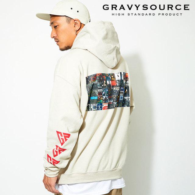GRAVYSOURCE(グレイヴィーソース) ALBUM HOODY 【2019AUTUMN&WINTER先行予約】【キャンセル不可】 【GS19-ASW01】【パーカー】