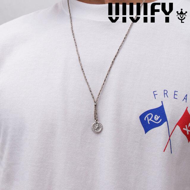 VIVIFY(ヴィヴィファイ)(ビビファイ) Braid Ancient Coin Necklace 【VIVIFY ネックレス】【VFN-303】【オーダーメイド ハンドメイ