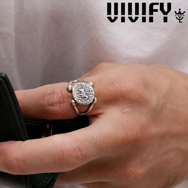 VIVIFY(ヴィヴィファイ)(ビビファイ) Ancient Coin Arm Ring w/gold 【VIVIFY リング】【VFR-139】【オーダーメイド ハンドメイド