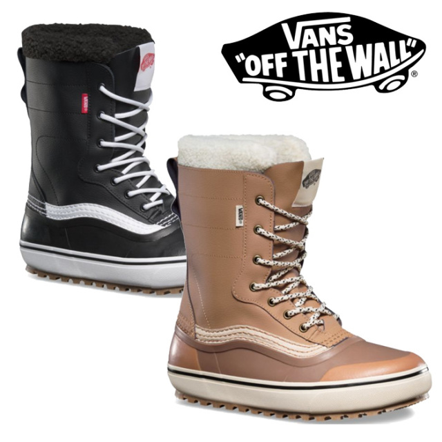 【VANS(バンズ)】 STANDARD SNOW BOOTS 【2018新作】 【送料無料】【即発送可能】 【スノーブーツ】【ブーツ】 【VN0A3TFMNWH】