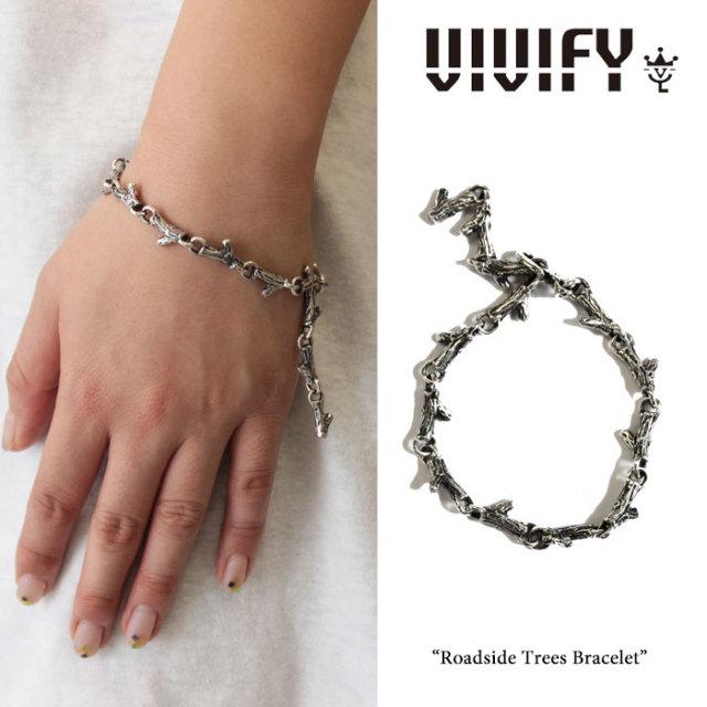 【2015 2nd EXHIBITION 先行予約】 VIVIFY(ヴィヴィファイ) Roadside Trees Bracelet 【送料無料】【キャンセル不可】 【職人の