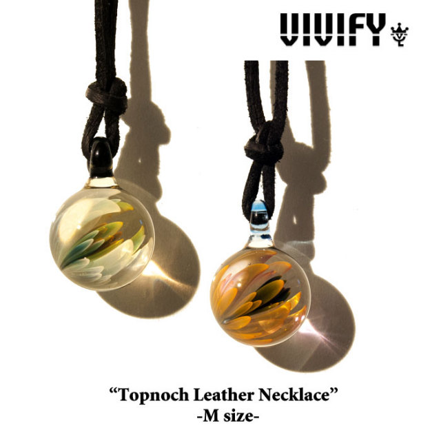 【2014 1st EXHIBITION先行予約】 VIVIFY(ヴィヴィファイ) Topnoch Leather Necklace(M) 【キャンセル不可】 【VIVIFY(ヴィヴィ