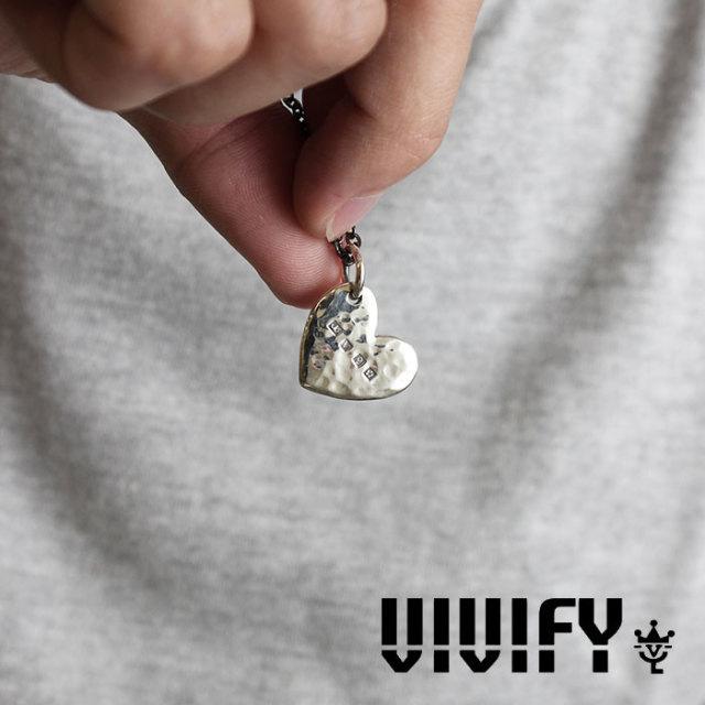 VIVIFY(ヴィヴィファイ) Hammered Heart Hallmarks Pendant Head 【2016 2nd EXHIBITION 先行予約】 【キャンセル不可】 【職人