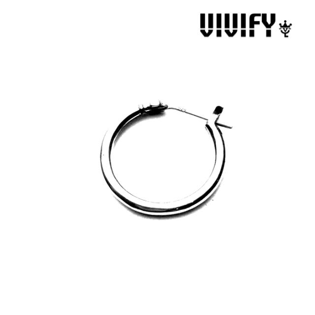 VIVIFY(ヴィヴィファイ)(ビビファイ) Hoop Pierce 【フープピアス】【シルバー】【VFP-090】【メール便 送料無料】【即発送可能】