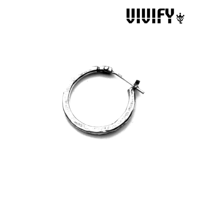 VIVIFY(ヴィヴィファイ)(ビビファイ) Hammered Hoop Pierce 【受注生産 オーダーメイド】【キャンセル不可】 【VIVIFY(ヴィヴィフ