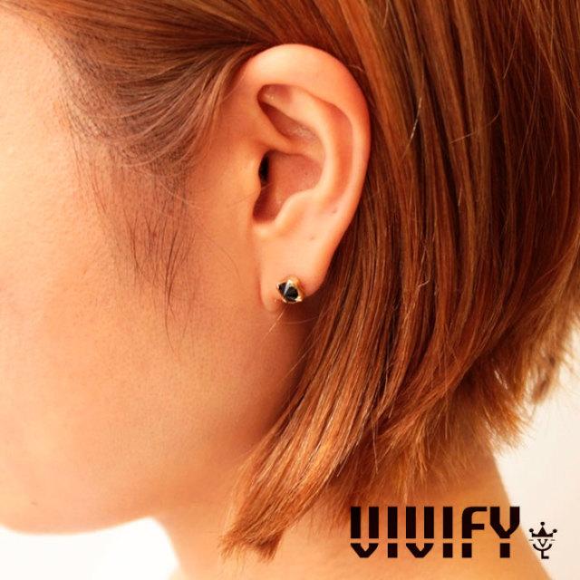 VIVIFY(ヴィヴィファイ)(ビビファイ) Spike Pierce/k18 【オーダーメイド受注生産】【キャンセル不可】 【VIVIFY ピアス】【シル
