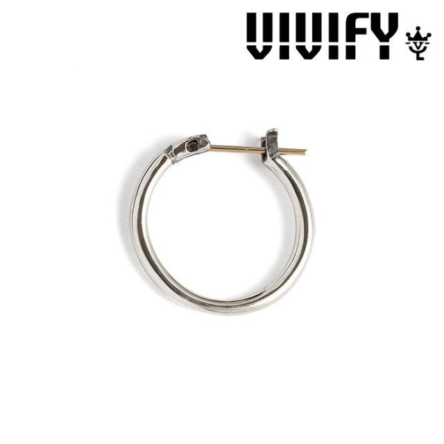 VIVIFY(ヴィヴィファイ) k18goldpost Hoop Pierce【オーダーメイド受注生産】【キャンセル不可】 【VIVIFY フープピアス】【シル
