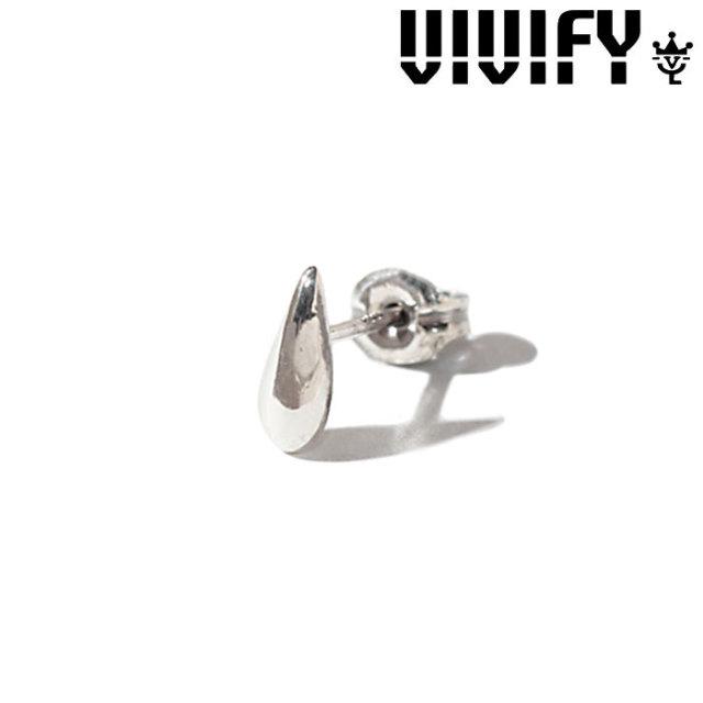 VIVIFY(ヴィヴィファイ)(ビビファイ)  Tear Drop Pierce 【オーダーメイド受注生産】 【キャンセル不可】 【職人の完全手作業に