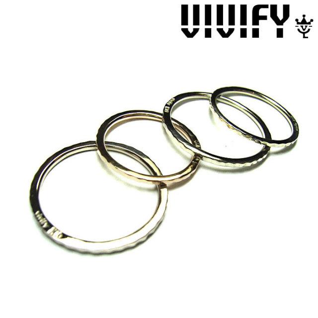 VIVIFY(ヴィヴィファイ)(ビビファイ) VIVIFY k10 Color Gold Fine Ring 【VIVIFY リング】【VFR-074】【レディース 女性用】【オー