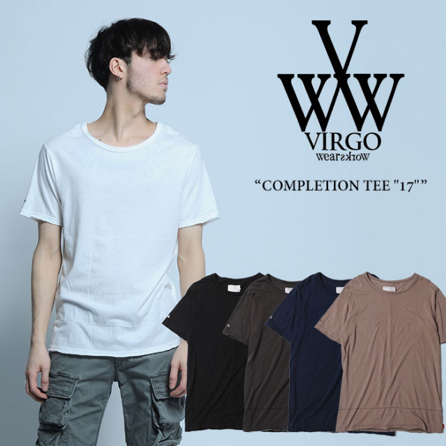 "【SALE40%OFF】 VIRGO(ヴァルゴ) COMPLETION TEE ""17"" 【2017SUMMER/EARLY AUTUMN新作】 【即発送可能】 【VIRGO Tシャツ】 【"