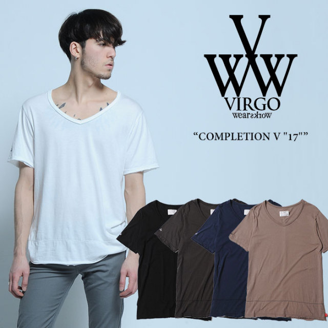 "【SALE40%OFF】 VIRGO(ヴァルゴ) COMPLETION V ""17"" 【2017SUMMER/EARLY AUTUMN新作】 【即発送可能】 【VIRGO Tシャツ】 【VG"