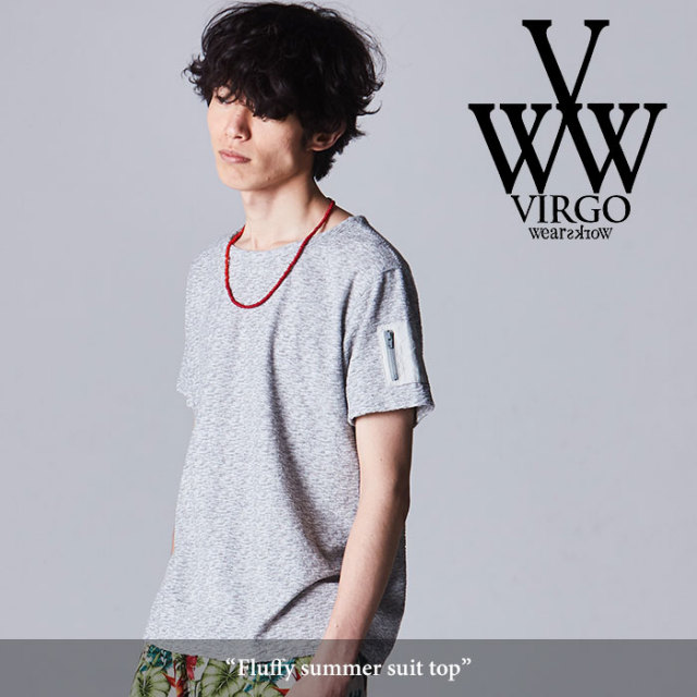 VIRGO(ヴァルゴ) Fluffy summer suit top 【2018SPRING/SUMMER先行予約】 【送料無料】【キャンセル不可】 【VG-CUT-358】