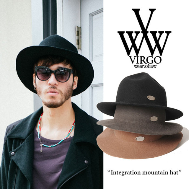 【SALE 40%OFF】 VIRGO(ヴァルゴ) Integration mountain hat 【送料無料】【即発送可能】 【2016-2017 HOLIDAY/SPRING】 【VIRG