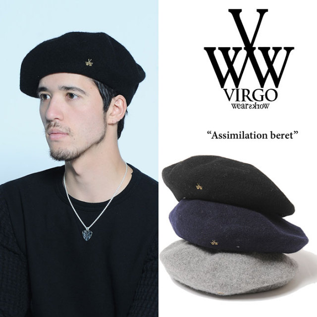 VIRGO(ヴァルゴ) Assimilation beret 【2017AUTUMN/WINTER新作】 【即発送可能】 【VG-GD-514】