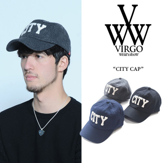 VIRGO(ヴァルゴ) CITY CAP 【2017AUTUMN/WINTER新作】 【即発送可能】 【VG-GD-518】