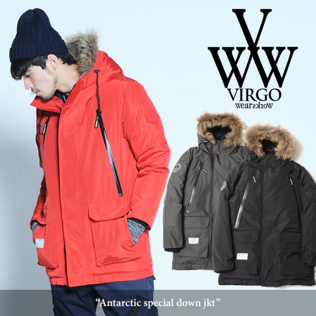 VIRGO(ヴァルゴ) Antarctic special down jkt 【2017AUTUMN/WINTER新作】 【送料無料】【即発送可能】 【VG-JKT-177】