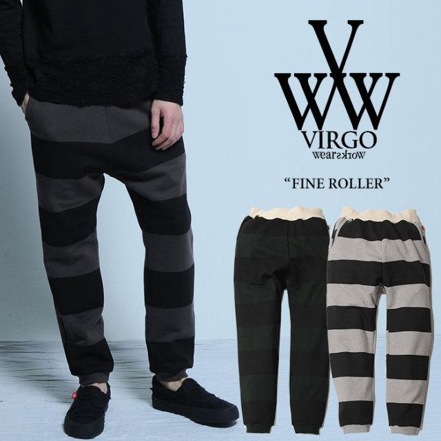 VIRGO(ヴァルゴ) FINE ROLLER 【2017SUMMER/EARLY AUTUMN新作】 【送料無料】【即発送可能】 【VIRGO パンツ】 【VG-PT-262】