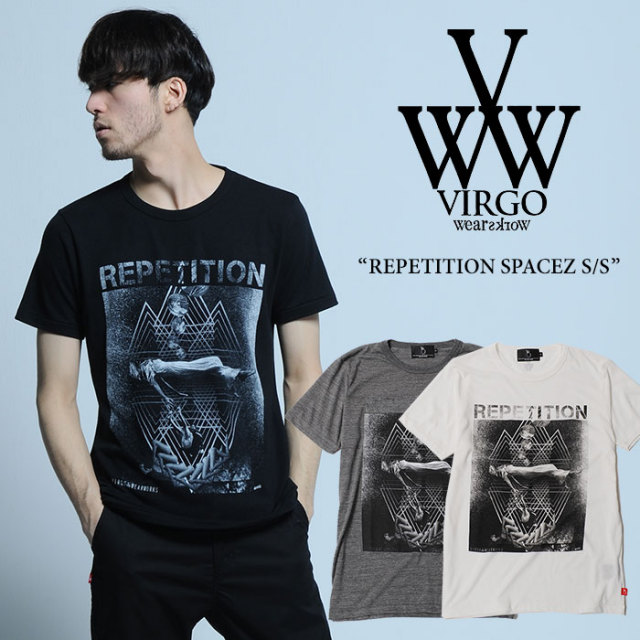【SALE40%OFF】 VIRGO(ヴァルゴ) REPETITION SPACEZ S/S 【2017SUMMER/EARLY AUTUMN新作】 【即発送可能】 【VIRGO Tシャツ】