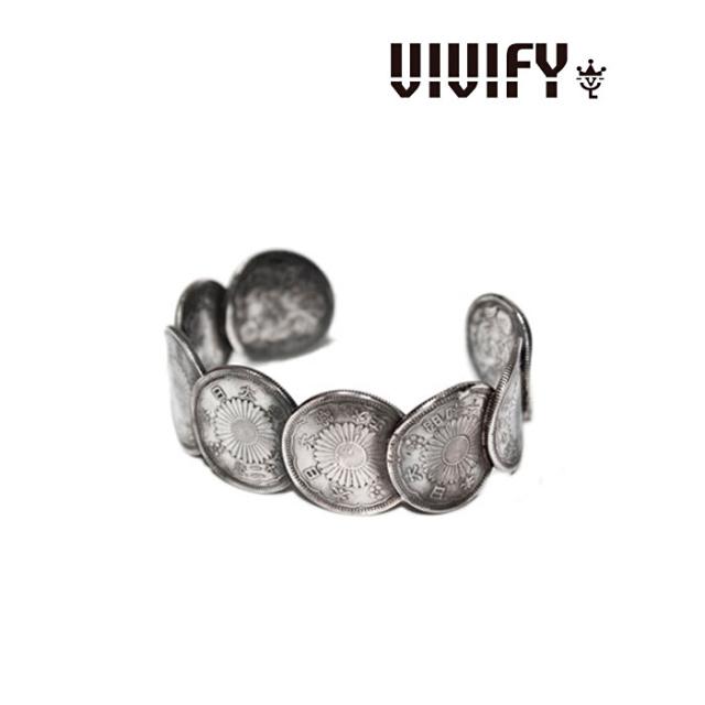 VIVIFY(ヴィヴィファイ) Japanese Old Coin Ranged Bangle 【送料無料】【即発送可能】 【職人の完全手作業による逸品】 【VIVI