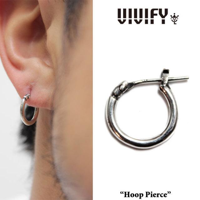 VIVIFY(ヴィヴィファイ)(ビビファイ) Hoop Pierce(S) 【フープ ピアス】【シルバー】【VFP-096】【即発送可能】