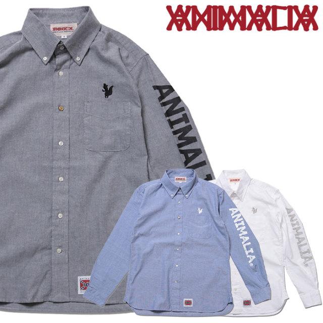 ANIMALIA(アニマリア) Arrogant Shirts : RR LOGO 【2018AUTUMN/WINTER先行予約】 【キャンセル不可】【AN18A-SH01】