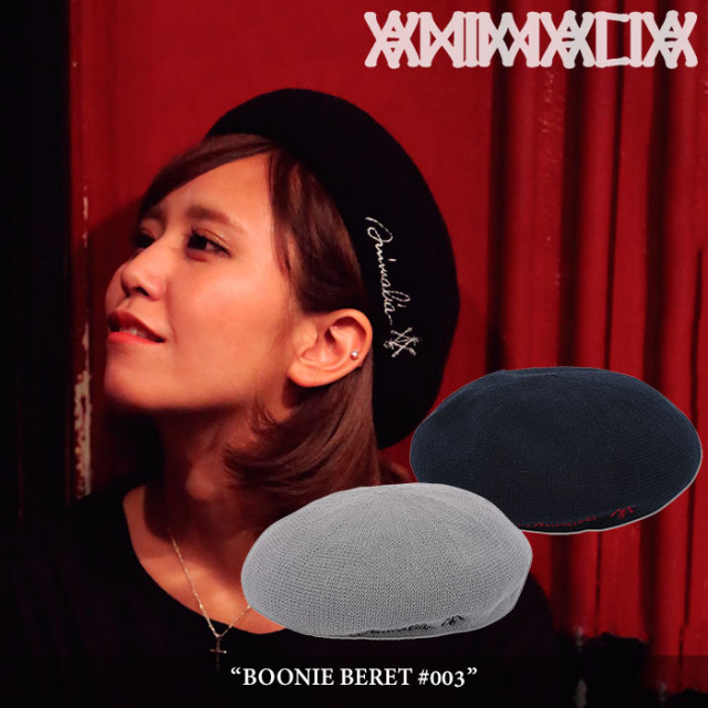 ANIMALIA(アニマリア) BOONIE BERET #003 【2018SUMMER新作】【AN18U-CP10】