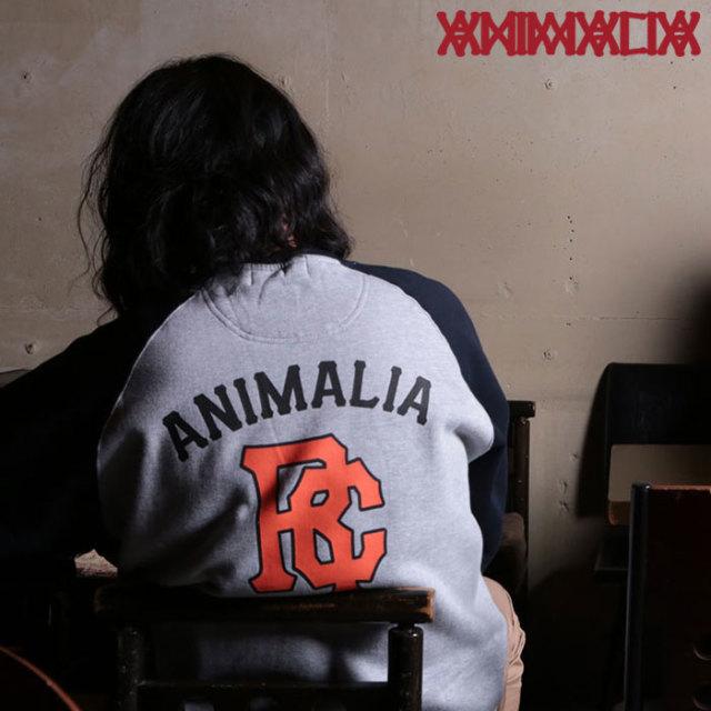 ANIMALIA(アニマリア) RUSTIX TEAM SWEAT 【2019SPRING先行予約】 【キャンセル不可】【AN19S-SW04】