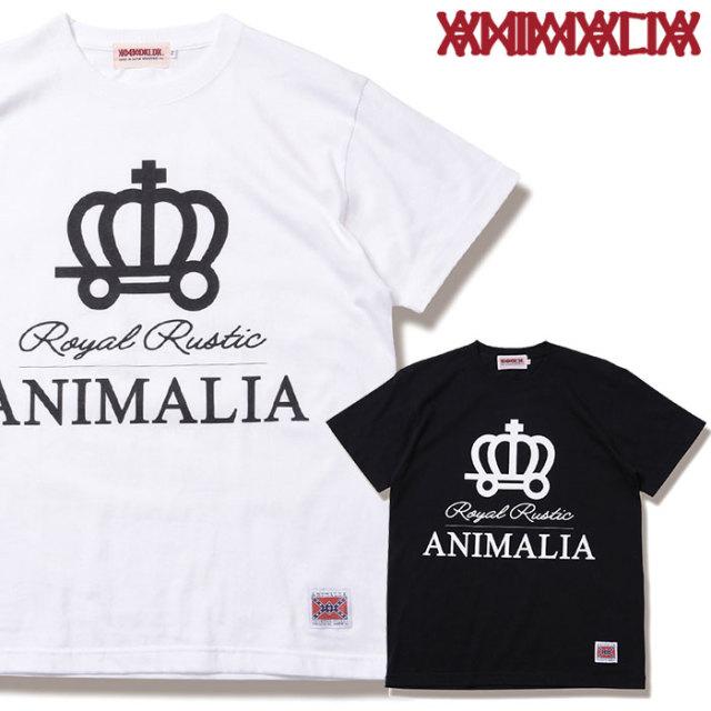 ANIMALIA(アニマリア) ROYAL RUSTIC S/S 【2019SPRING先行予約】 【キャンセル不可】【AN19S-TE03】