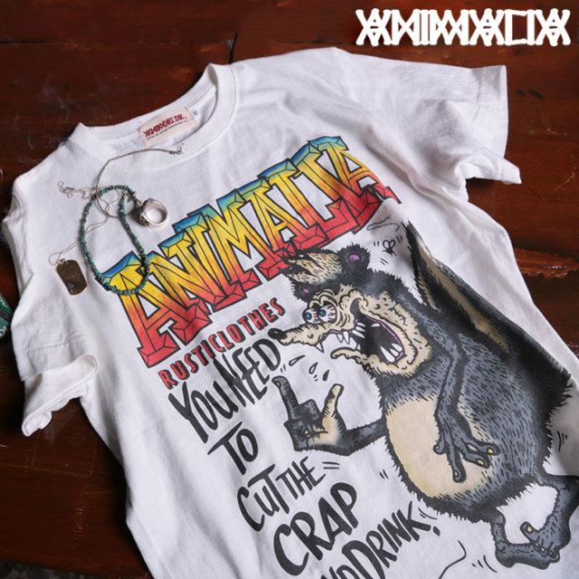 ANIMALIA(アニマリア) SKUNK FINK  S/S 【2019SPRING新作】 【Tシャツ】【AN19S-TE10】
