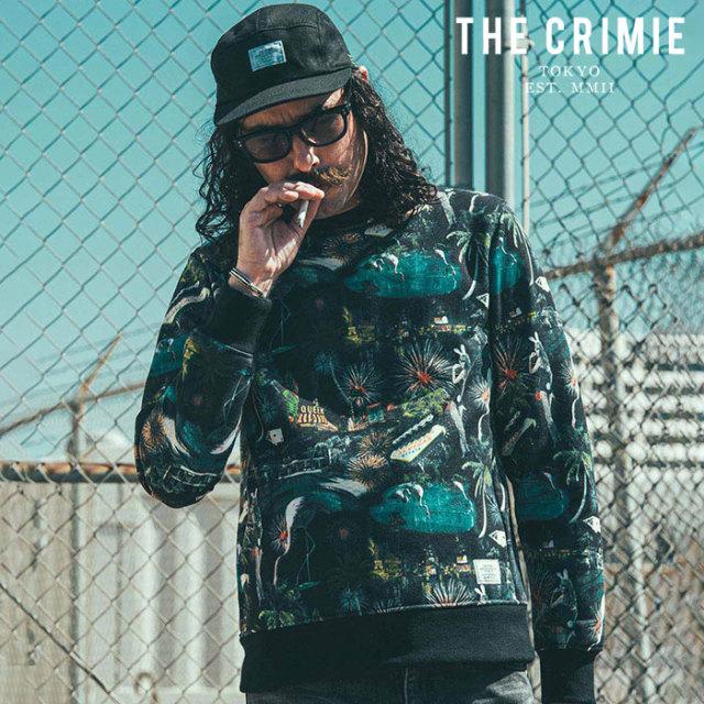 CRIMIE(クライミー) LAS VEGAS SWEAT 【スウェット】【ブラック ブラックホワイト アメカジ ミリタリー】【シンプル おしゃれ】【C
