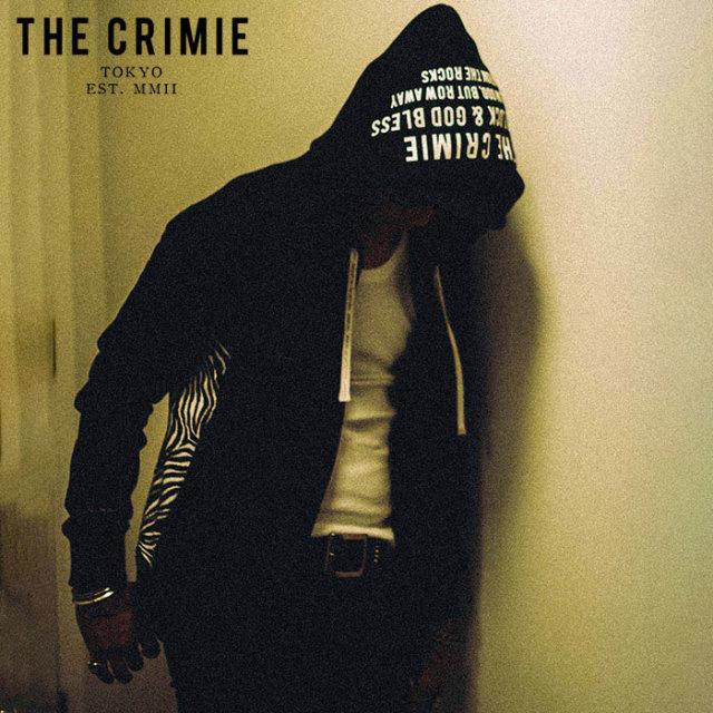 CRIMIE(クライミー) TIGER SWEAT ZIP PARKA 【ジップパーカー】【ブラック ネイビー アメカジ ミリタリー】【シンプル おしゃれ】