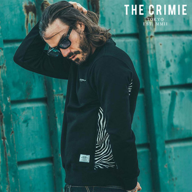 CRIMIE(クライミー) TIGER SWEAT 【スウェット】【ブラック ネイビー アメカジ ミリタリー】【シンプル おしゃれ】【CR01-02L1-CL5