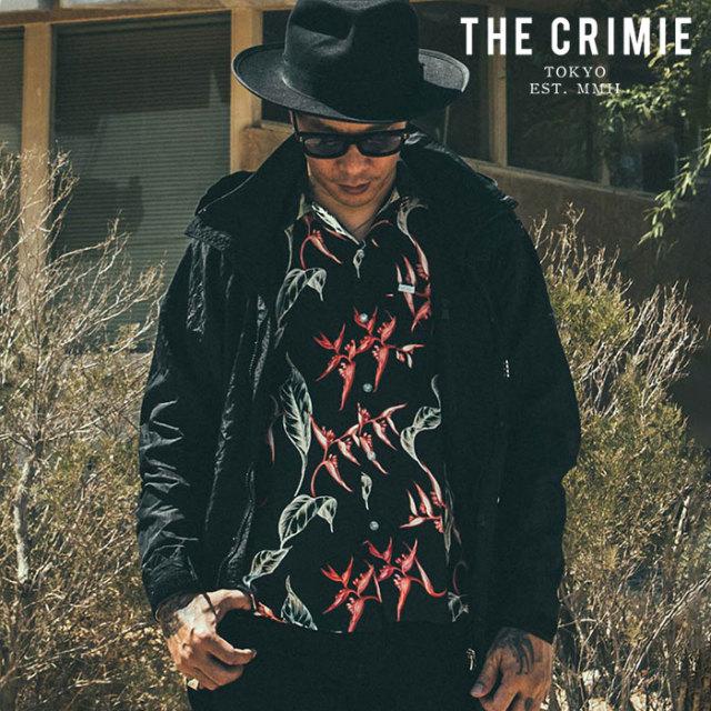 CRIMIE(クライミー) WRINKLE LONG COAT 【ロングコート】【ブラック カーキ アメカジ ミリタリー】【シンプル おしゃれ】【CR01-02