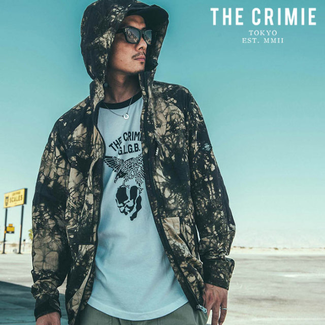 CRIMIE(クライミー) WRINKLE MOUNTAIN PARKA 【マウンテンパーカー】【ブラック カーキ アメカジ ミリタリー】【シンプル おしゃれ