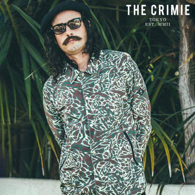 CRIMIE(クライミー) BAT CAMO COACH JACKET 【コーチジャケット】【ホワイト カーキ アメカジ ミリタリー】【シンプル おしゃれ】