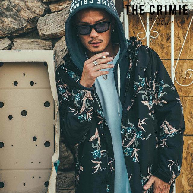 CRIMIE(クライミー) LILY PARKA 【マウンテンパーカー】【ブラック ベージュ アメカジ ミリタリー】【シンプル おしゃれ】【CR01-0