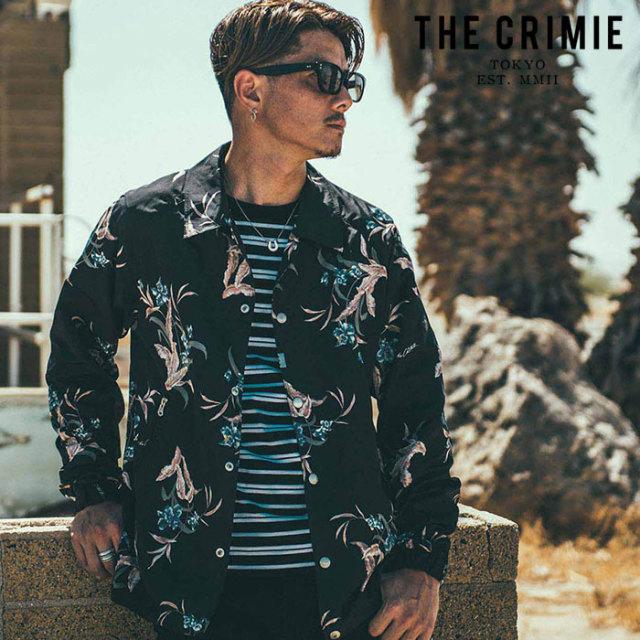 CRIMIE(クライミー) LILY COACH JACKET 【コーチジャケット】【ブラック ベージュ アメカジ ミリタリー】【シンプル おしゃれ】【C
