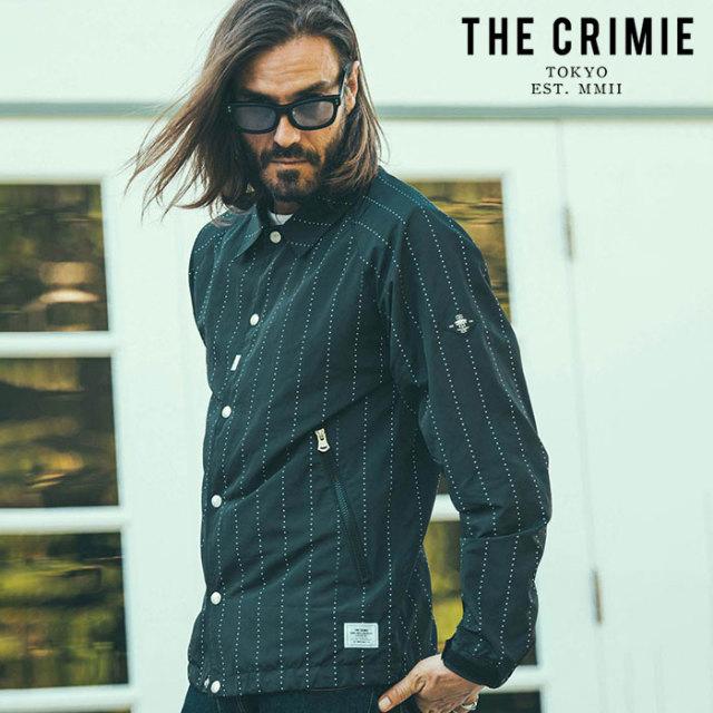 CRIMIE(クライミー) STAR STRIPE COACH JACKET 【コーチジャケット】【ブラック カーキ アメカジ ミリタリー】【シンプル おしゃれ