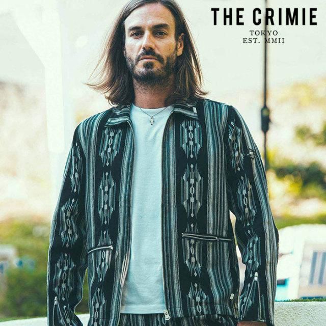 CRIMIE(クライミー) NATIVE JACQUARD SWING TOP JACKET 【スウィングトップ ジャケット】【ブラック ネイビー アメカジ ミリタリー