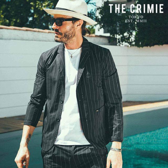 CRIMIE(クライミー) NEIL STAR STRIPE JACKET 【ジャケット】【ブラック アメカジ ミリタリー】【シンプル おしゃれ】【CR01-02L1-